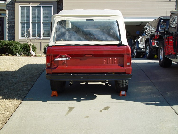 camrags 1968 Ford Bronco 8820732