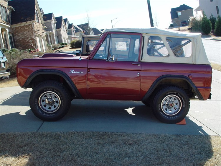 camrags 1968 Ford Bronco 8820733