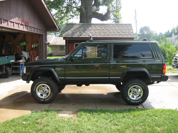 komins54 1995 jeep cherokee specs photos modification info at cardomain. Black Bedroom Furniture Sets. Home Design Ideas