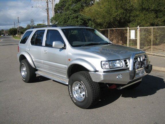 Alleydog 2000 Isuzu Rodeo Specs Photos Modification Info
