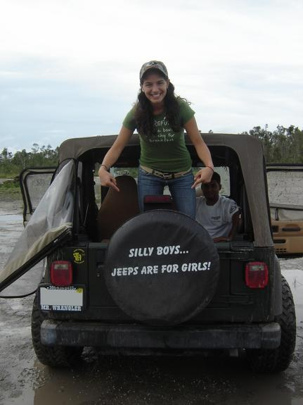 Silly Boys Jeeps are for Girls