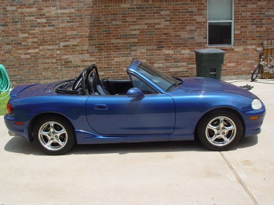 go speed 39 s 1999 mazda miata mx 5 in houston tx. Black Bedroom Furniture Sets. Home Design Ideas