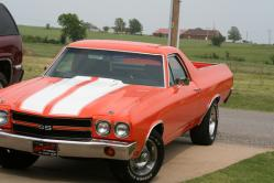 orange70elkos 1970 Chevrolet El Camino