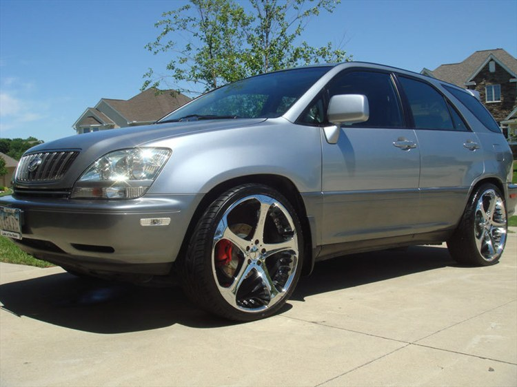 2001 lexus rx300 car tuning