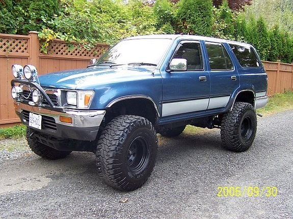 Toyota 4Runner Off Road >> redranger22 1992 Toyota 4Runner Specs, Photos, Modification Info at CarDomain