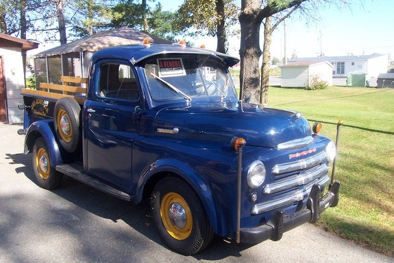 fargo2sell 1950 dodge w series pickup specs photos. Black Bedroom Furniture Sets. Home Design Ideas
