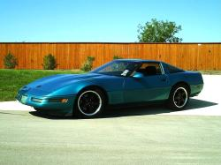 AquaVetteUSAs 1993 Chevrolet Corvette