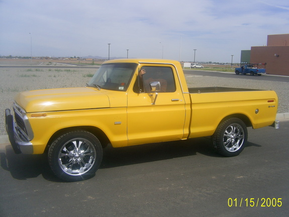 lowstlo 1973 Ford F150 Regular Cab