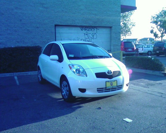 del007 39 s 2007 toyota yaris in pomona ca. Black Bedroom Furniture Sets. Home Design Ideas