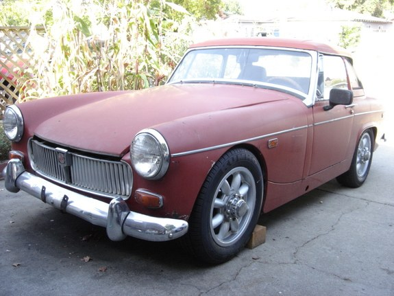 Izzys01Dad 1969 MG Midget Specs, Photos, Modification Info
