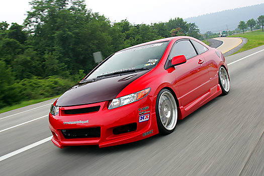 Foxmarketing 2006 Honda Civic Specs  Photos  Modification
