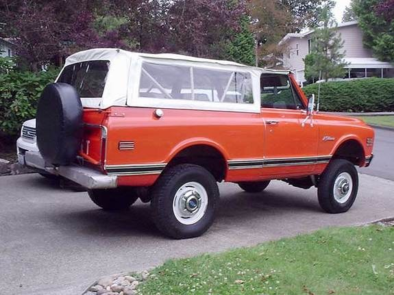 bouncytruck 1972 Chevrolet Blazer 8995735