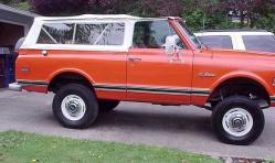 bouncytruck 1972 Chevrolet Blazer