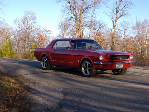 bmxmon 1965 Ford Mustang