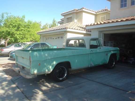 vegasrocker 1969 Dodge D150 Club Cab 9230437