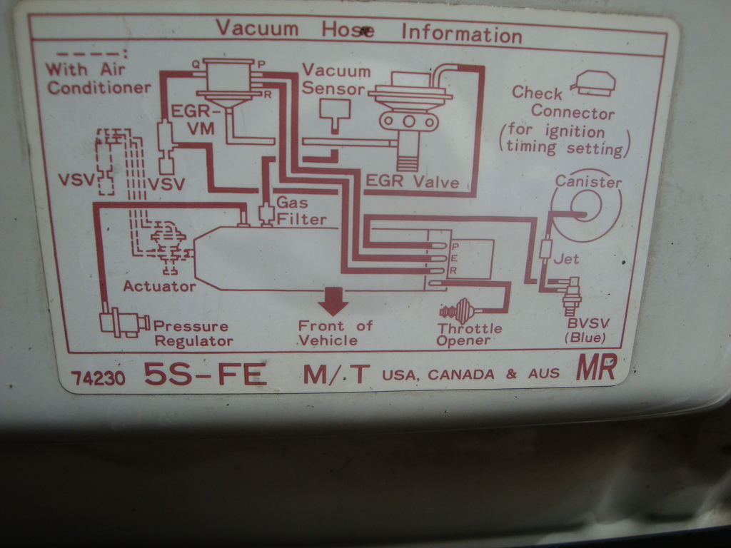 1992 Toyota Celica Vacuum Diagram Illustration Of Wiring Acura Legend Images Gallery
