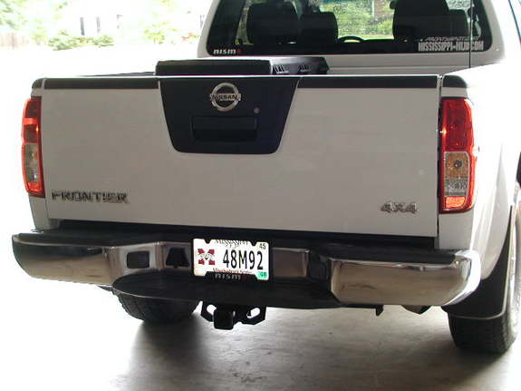 Uhaul Hitch with OEM Wiring Nissan Frontier Forum