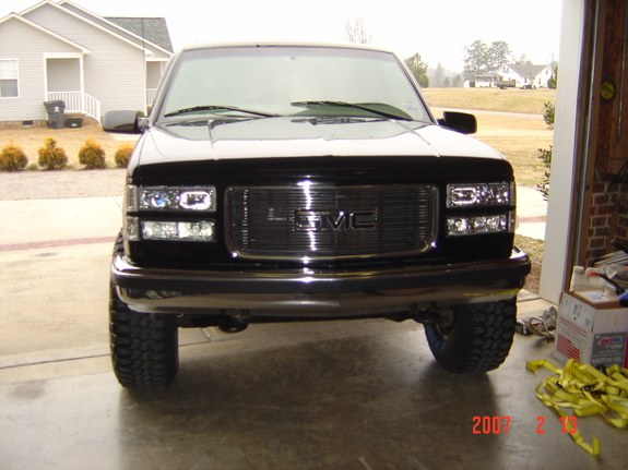 Another fohunded 1997 GMC Yukon post... - 9443014