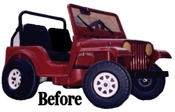 Garfield3G1 2005 Jeep CJ5 9062074