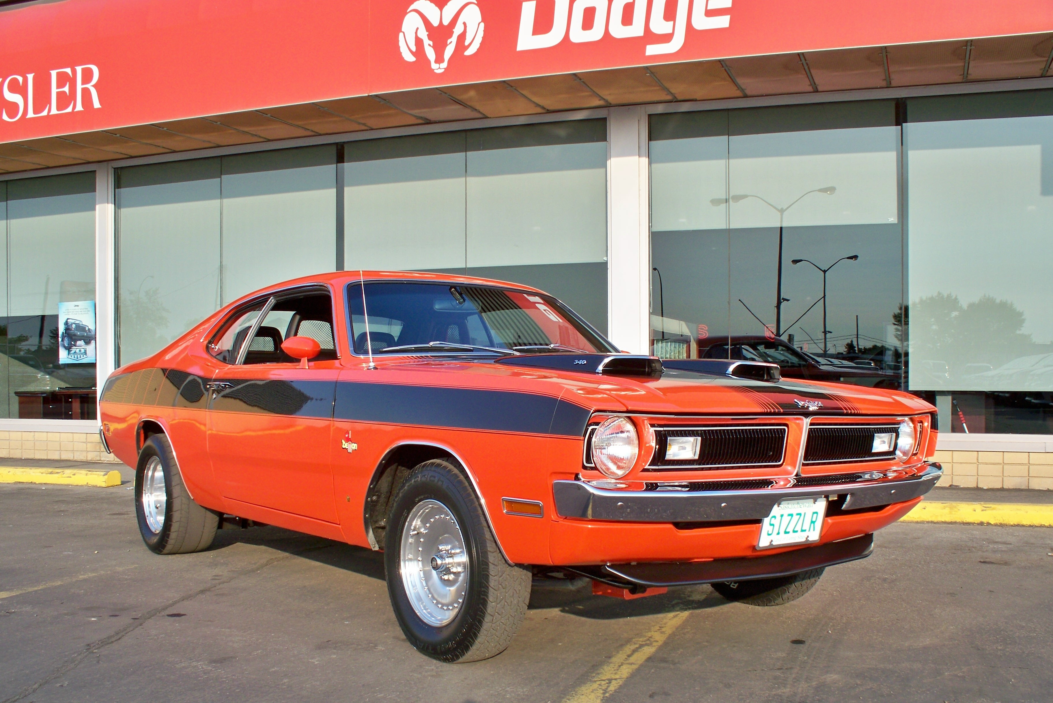 71SIZZLR 1971 Dodge Demon 15315995