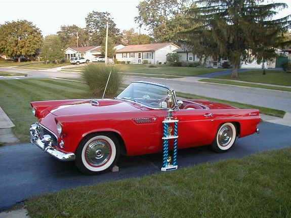 Another mbone 1955 Ford Thunderbird post... - 9071507