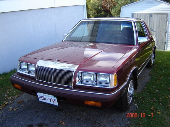 Another petsach 1986 Chrysler LeBaron post... - 9084157