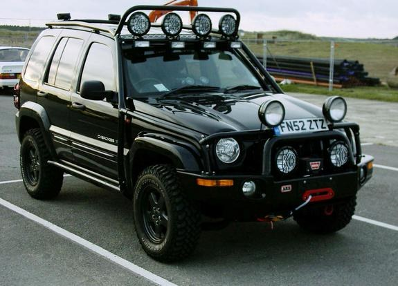 Liberty Light Bar Mod: Rjthorn 2002 Jeep Liberty Specs, Photos, Modification Info