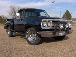 fordfighter 1977 Dodge D150 Club Cab