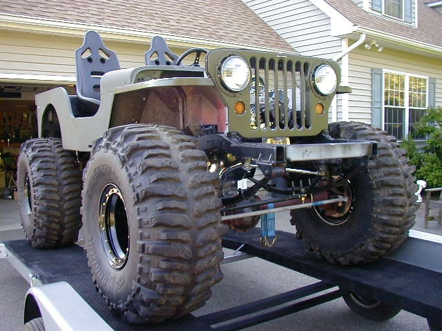 Another 48CJ2aFlatty 1946 Willys CJ2A post... - 9238390