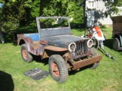 jeepfreak81 1946 Willys CJ2A
