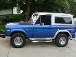 my70grande302 1971 Ford Bronco