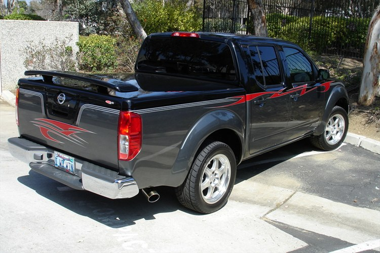 supercharged4_0 2006 Nissan Frontier Regular Cab