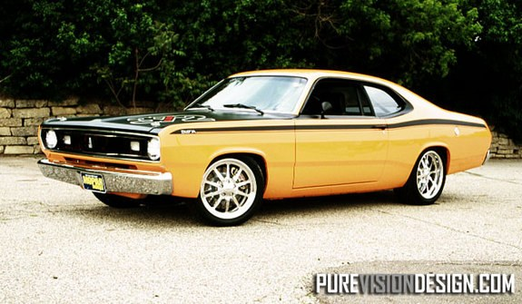 Another purevisiondesign 1971 Plymouth Duster post... - 9219380