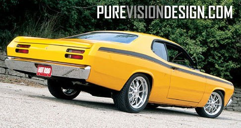 Another purevisiondesign 1971 Plymouth Duster post... - 9219383