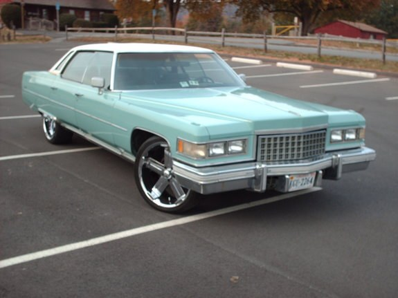 all_cadillacs 1976 Cadillac DeVille Specs, Photos, Modification Info