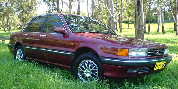 Another Holden_Tigra 1989 Mitsubishi Galant post... - 9245201