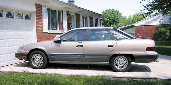 Large on 1991 Buick Lesabre
