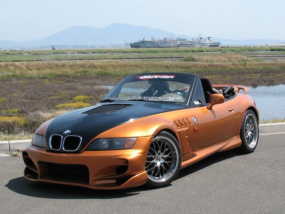 Recently Spotted Customized Z3 Roadster