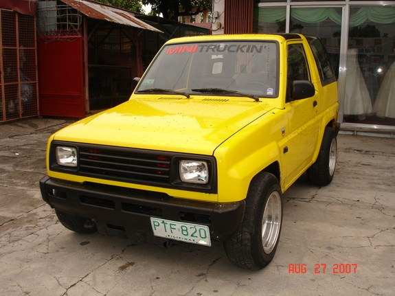 Another john_quizon 1990 Daihatsu Feroza post... - 10436142