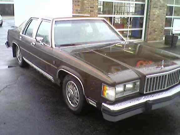 mbanjura 1985 Mercury Grand Marquis