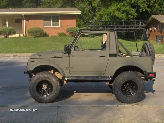 sniper327 1988 suzuki samurai specs photos modification. Black Bedroom Furniture Sets. Home Design Ideas