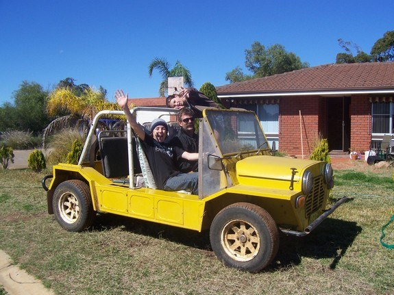 Another tiger90 1978 MINI Moke post... - 9254951