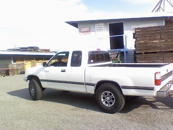 ontheprowl 39 s 1998 toyota t100 in chino hills ca. Black Bedroom Furniture Sets. Home Design Ideas
