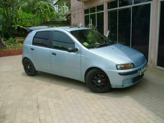blueblackpunto 2001 fiat punto specs photos modification info at cardomain. Black Bedroom Furniture Sets. Home Design Ideas