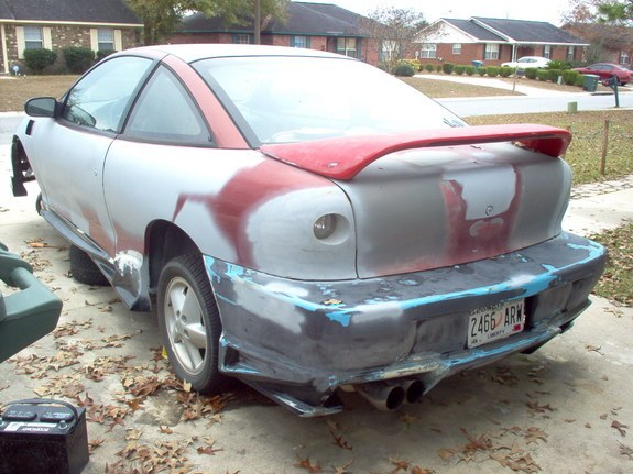 96 Mustang Side Exhaust Skirts