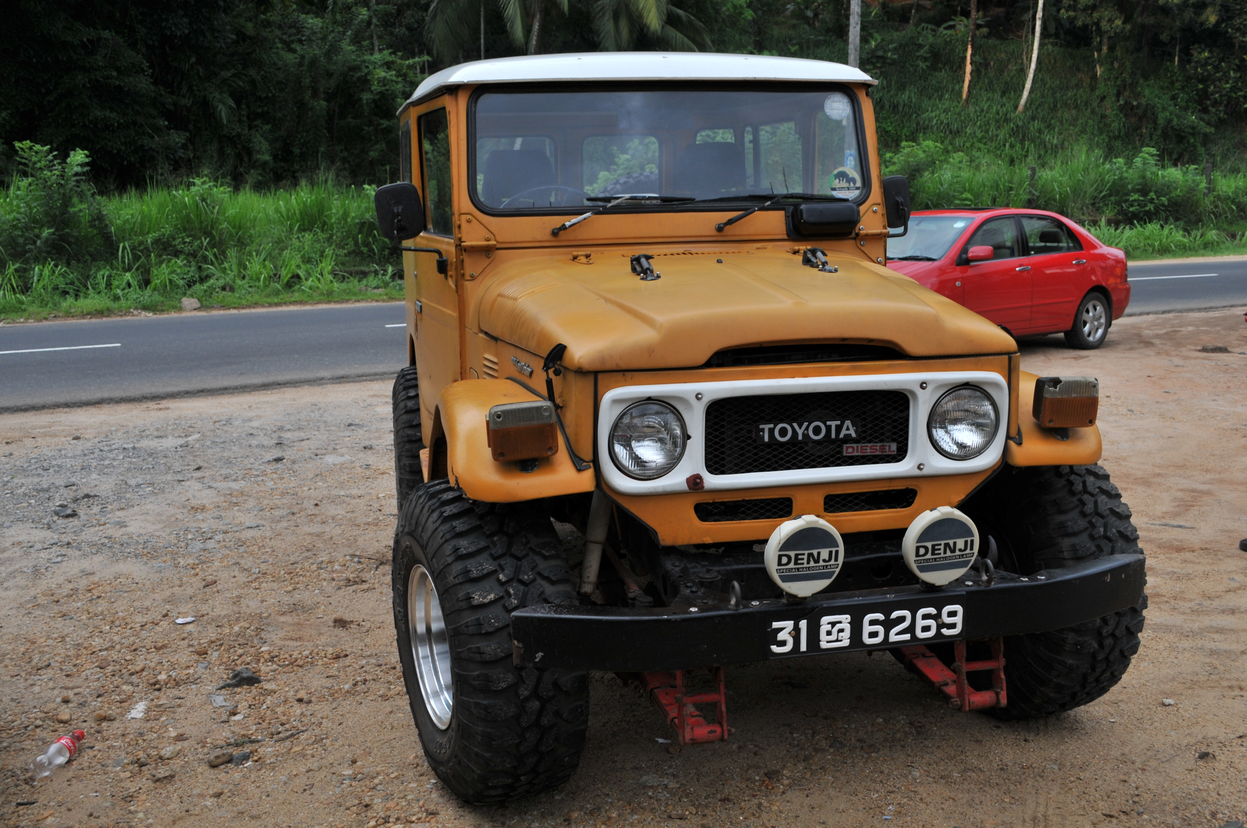 This Is My Toyota Land Cruiser BJ40 That Lives In Southern Part Of Sri  Lanka (