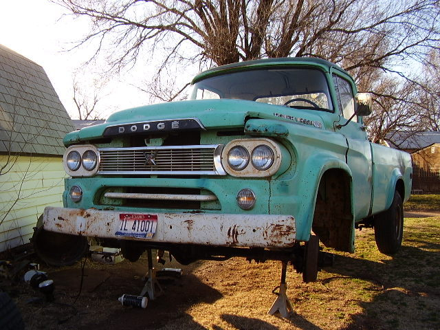 mikeystoy 1960 Dodge W-Series Pickup 9260062