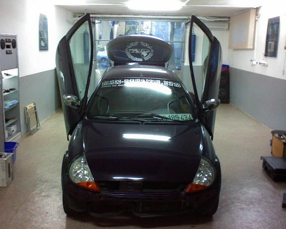 Ford Ka By Brka From Belgrade Serbia This Car Has A Loot Of