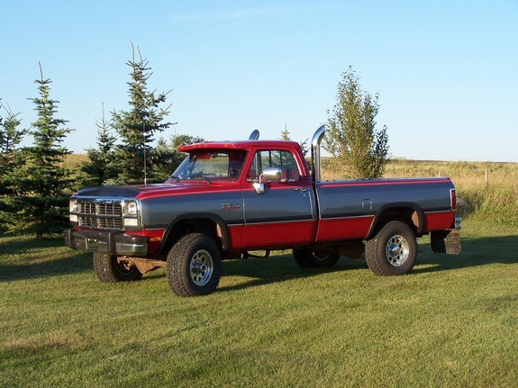 Torque Monster 1991 Dodge W Series Pickup Specs Photos