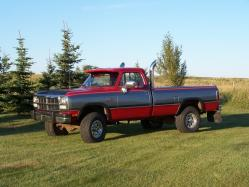1991 Dodge W-Series Pickup